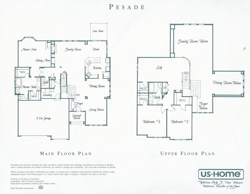Pesade Floor Plan