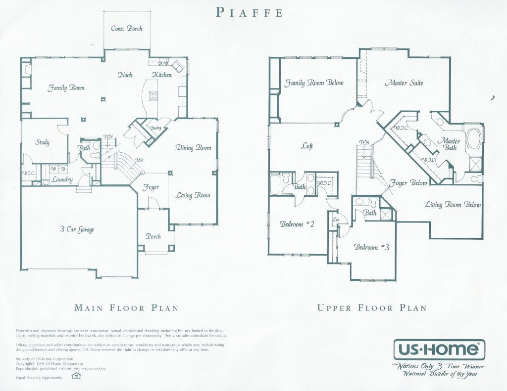 Piaffe Floor Plan