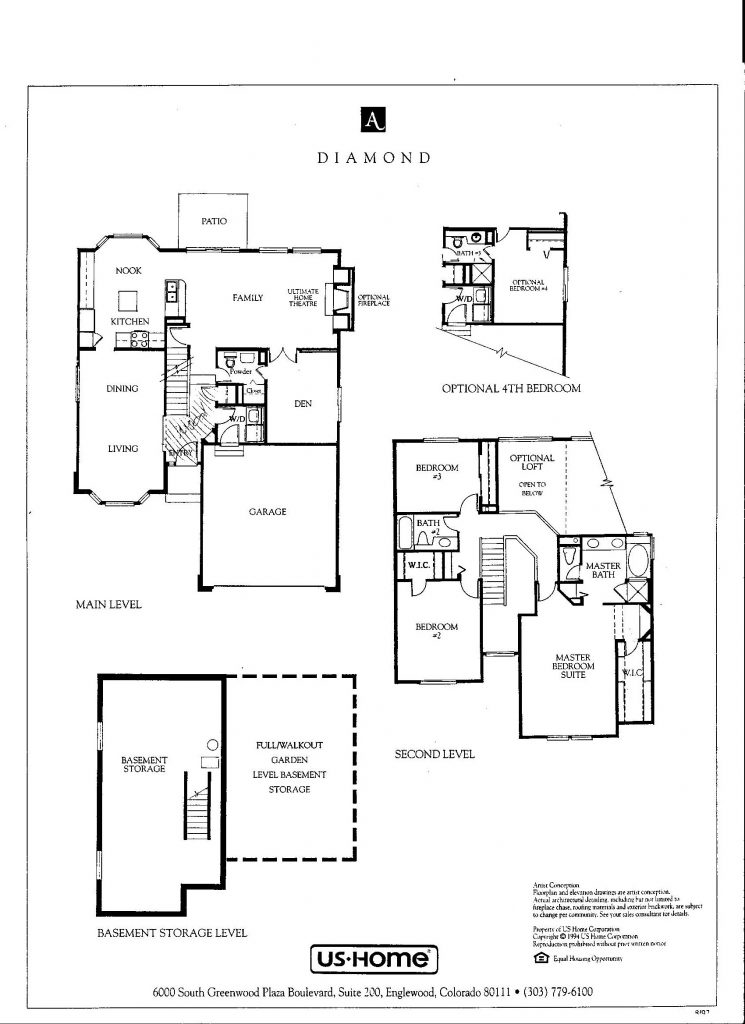 Diamond Floor Plan Options