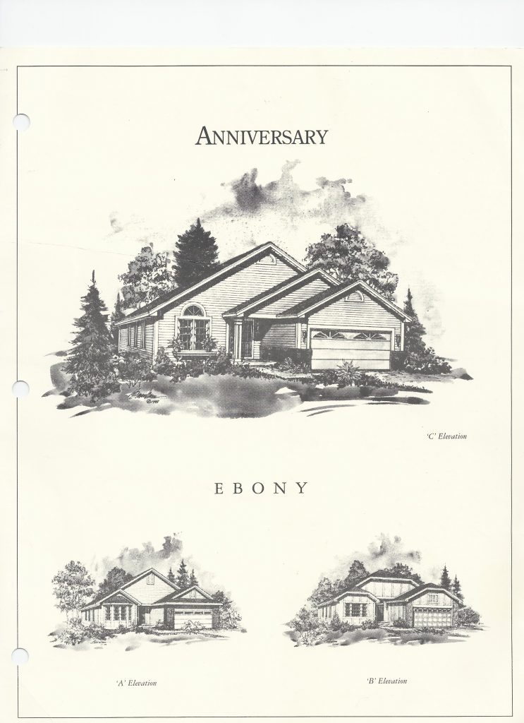 Ebony Front Elevation